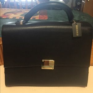 BEAUTIFUL FOREVER 21 NWT BRIEFCASE BAG